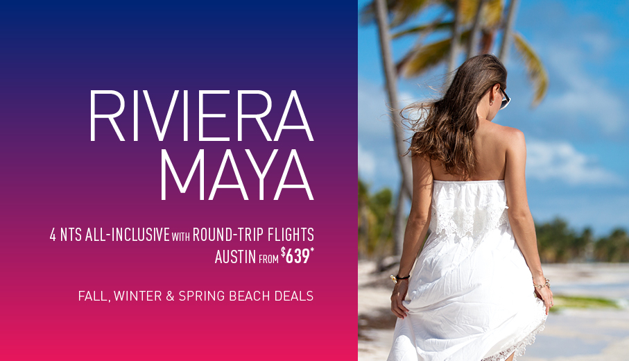 Austin to Riviera Maya Deals