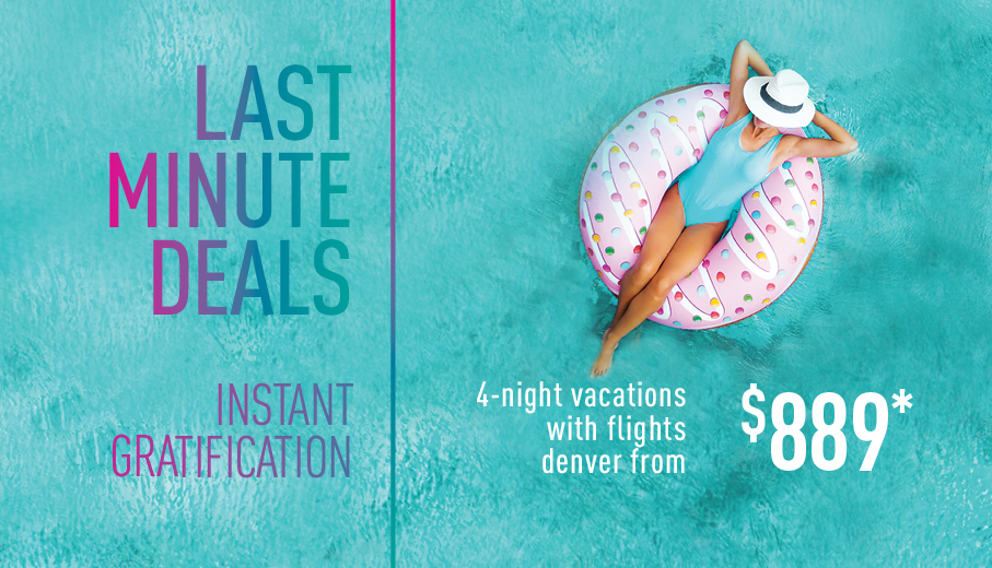 Last Minute Deals On All Inclusive Packages From Denver By