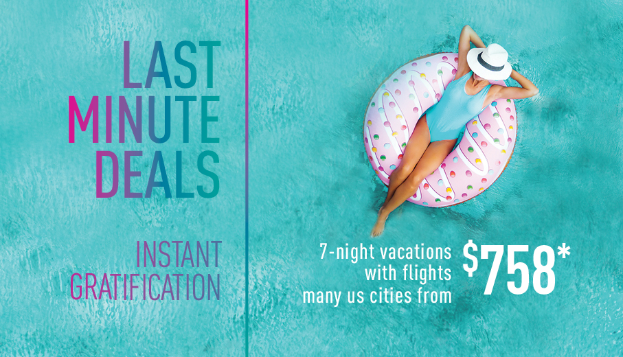 Last Minute Deals On All Inclusive Packages By Vacation
