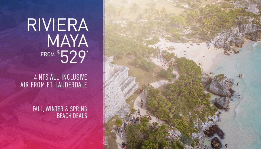Ft. Lauderdale to Riviera Maya Deals