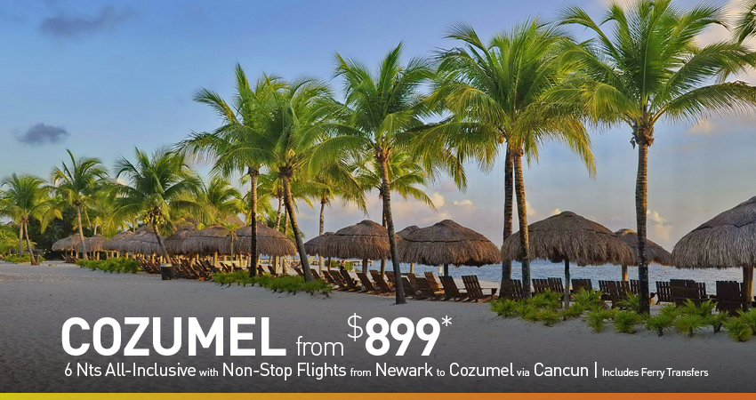 New York City to Cozumel Deals