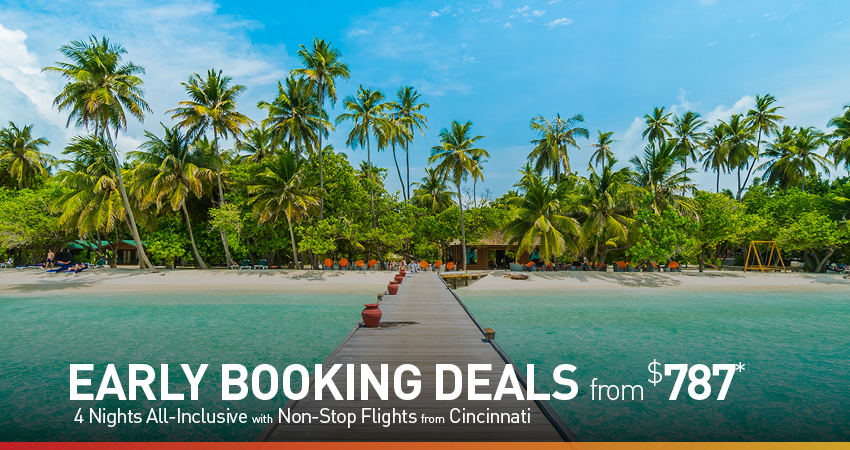 Cincinnati Early Booking Deals