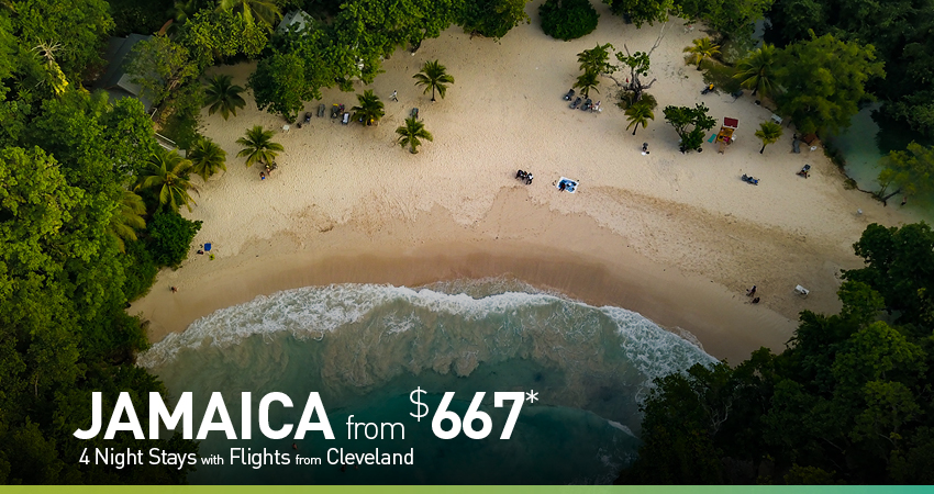Cleveland to Jamaica Deals