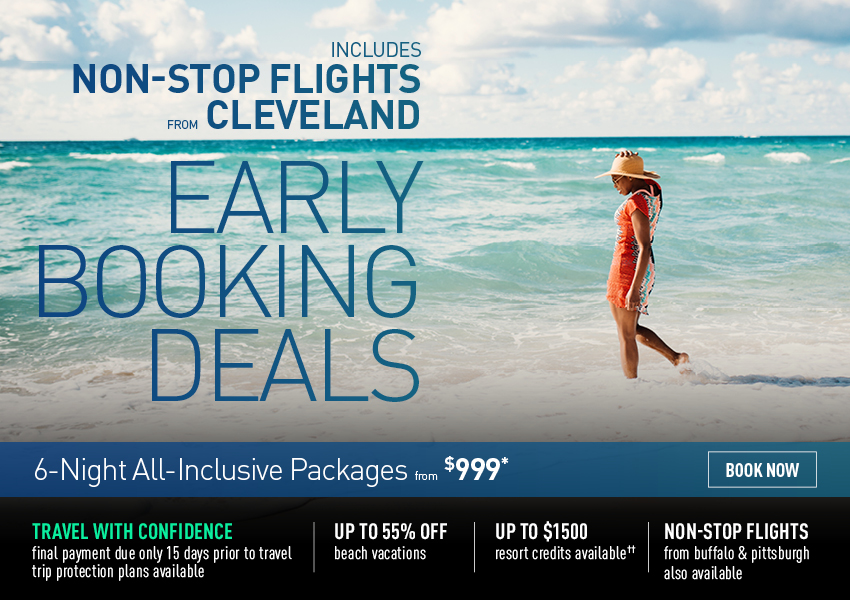 Cleveland Early Booking Deals