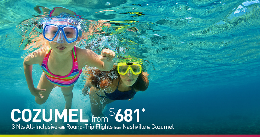 Nashville to Cozumel Deals