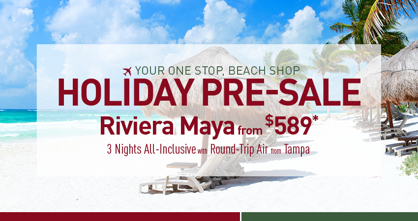 Tampa to Riviera Maya Deals