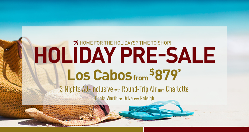 Raleigh to Los Cabos Deals