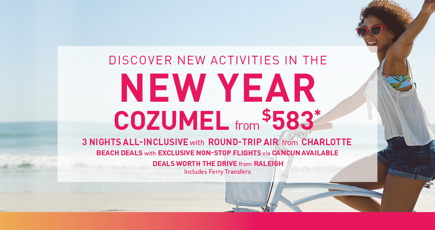 Raleigh to Cozumel Deals