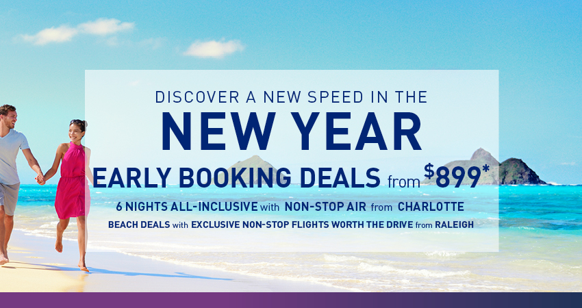 Raleigh Early Booking Deals