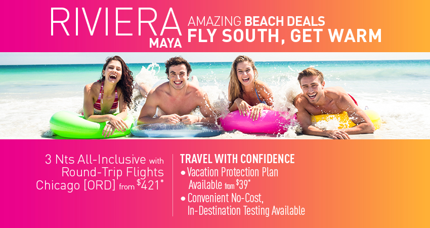 Chicago to Riviera Maya Deals