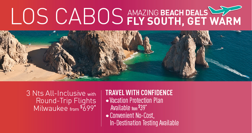 Milwaukee to Los Cabos Deals