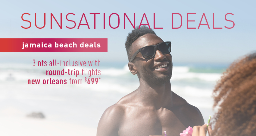 New Orleans to Jamaica Deals