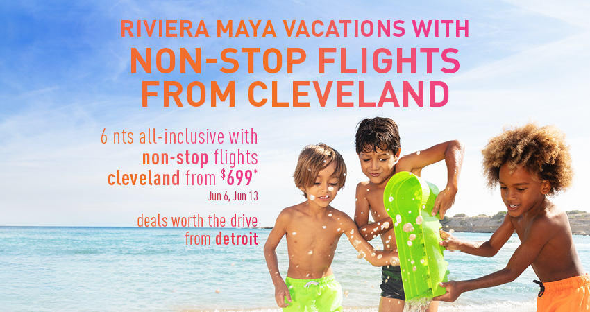 Detroit to Riviera Maya Deals