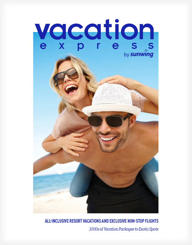 Vacation Express' Brochure Cover