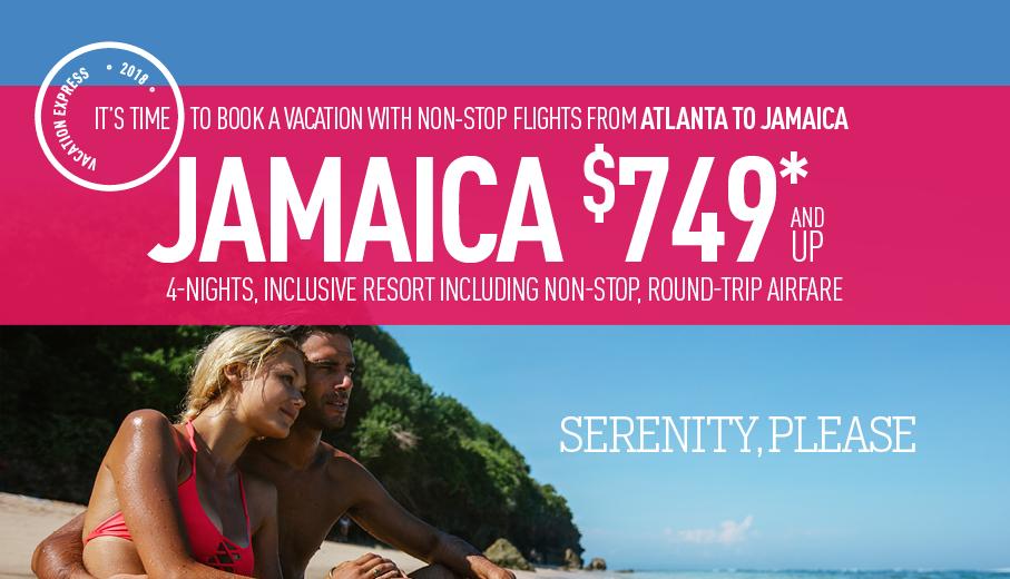 Vacation deals from atlanta