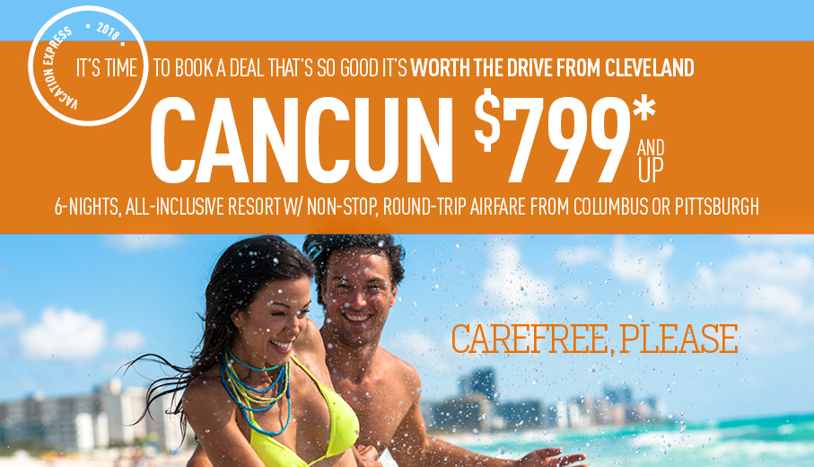 Cleveland to Cancun Deals