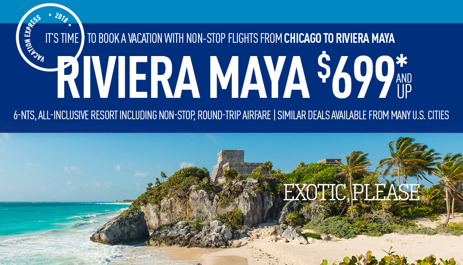 Cincinnati to Riviera Maya Deals