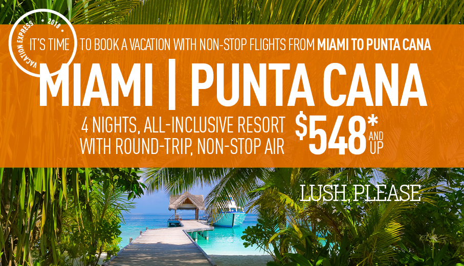 Miami To Punta Cana AllInclusive Vacation Packages The Best - Cheap packages to miami