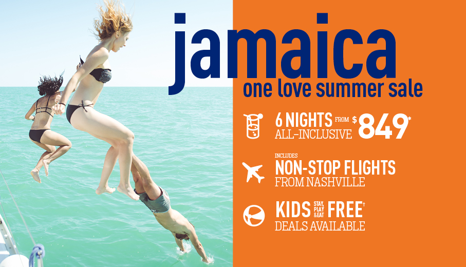 Nashville to Jamaica Deals