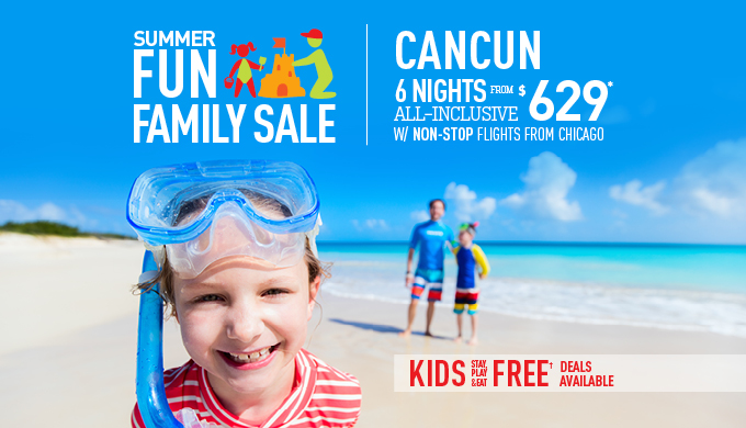 Chicago to Cancun Deals
