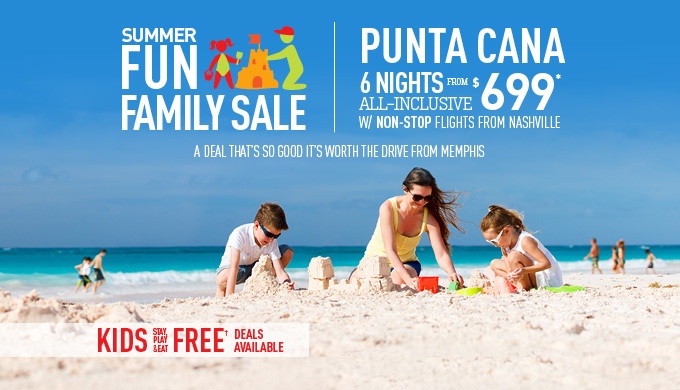Memphis to Punta Cana Deals