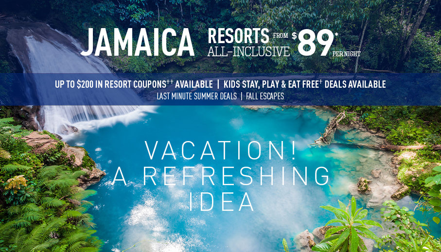 Philadelphia To Jamaica All Inclusive Vacation Packages