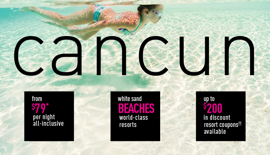 Boston To Cancun All Inclusive Vacation Packages The
