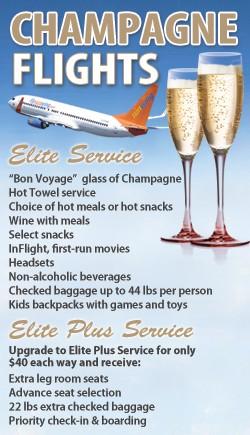 Champagne Flights!